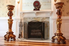Trostel Mansion Baroque Parlor Fireplace